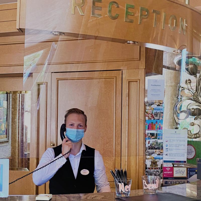 Bild zu Blog-Artikel Hotelfachmann / Hotelfachfrau